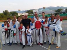 Shotokan karate Grosuplje vodene priprave tekmovalcev