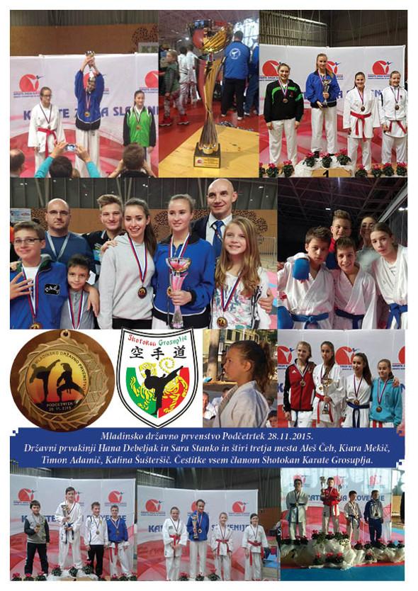 Shotokan karate klub Grosuplje